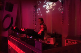 DJ of 69 in Club Hush Ibiza Westend Sant Antoni