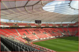 BayArena Bayer 04 Leverkusen DJ of 69