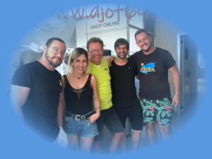 DJ of 69 at Ibiza Global Radio with Jose Maria Ramon, Anna Tur, Miguel Garji und KrisTek